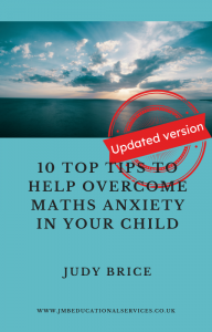 maths anxiety eBook front page